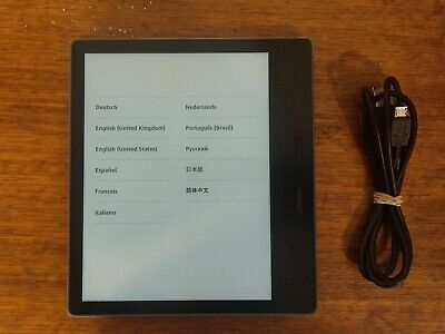 AU378.69 • Buy Kindle Oasis 32gb Graphite 9th Gen WiFi + 3G -  No Ads Or Offers