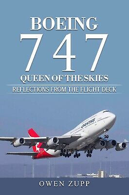 "AU26.99 • Buy Signed QANTAS Boeing 747 ""Queen Of The Skies"" Book"