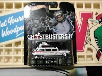 Hot Wheels The Real Ghostbusters 11 Ecto 1a Real Rider • 10£