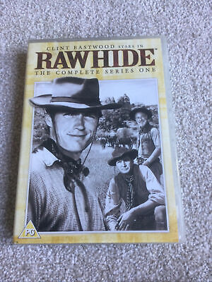 £10.50 • Buy Clint Eastwood 'Rawhide - Complete Series One' DVD 6 Discs VG 1992 (18 HOURS)