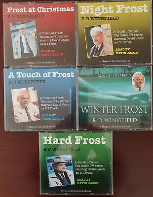 JOB LOT 5 X Touch Of Frost By Wingfield, R. D. CD Audio Books  • 5.99£