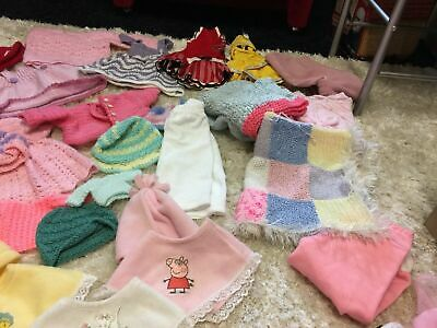 £30 • Buy Large Quantity  Of  Smoky DOLL ROBY/ROSIE/For Hand Knitted Job Lots Clothes
