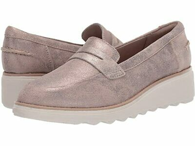 Clarks Sharon Ranch (Pewter Suede) Women's Wedge Shoes 4  D VGC  • 10£