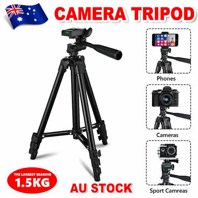 AU18.95 • Buy Professional Camera Tripod Monopod Stand Phone Holder Mount For Nikon Canon DSLR
