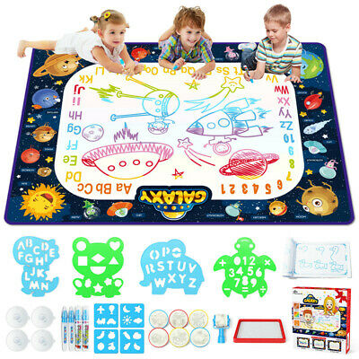 £15.50 • Buy Kids Creative Painting Toys Water Magic Drawing Doodle Mat Pad 35 X 47 Inch