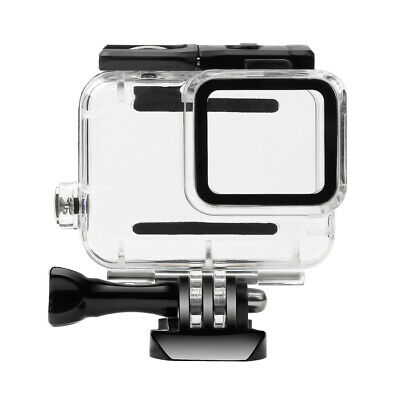 AU18.27 • Buy Waterproof Housing Case Diving Protective Cover For Gopro Hero 7 Silver/White JN