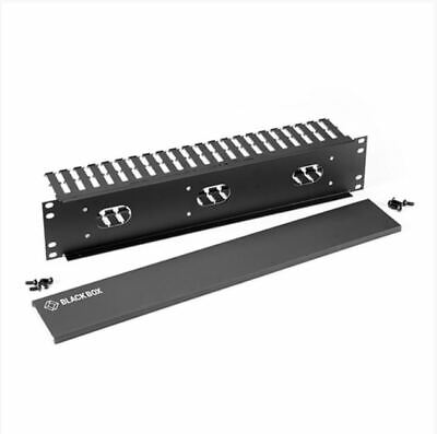 BLACK BOX Horizontal IT Rackmount Cable Manager 19  1U Single-Sided RMT100A-R3 • 35£