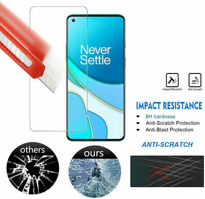AU3.99 • Buy For OnePlus 9 9R Nord N10 5G N100 HD-Clear 9H Tempered Glass Screen Protector