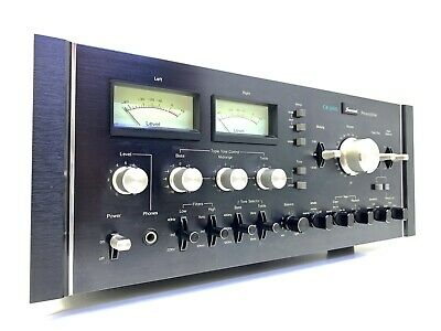 £3670.96 • Buy SANSUI CA-3000 Stereo Pre Amplifier Vintage 1975 HiFi Working 220Volts LIKE NEW