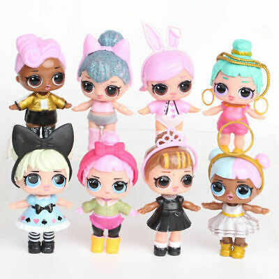 £9.88 • Buy 8Pcs LOL Surprise Doll Cartoons Action Figure Toy Kids Cake Topper Gifts UK