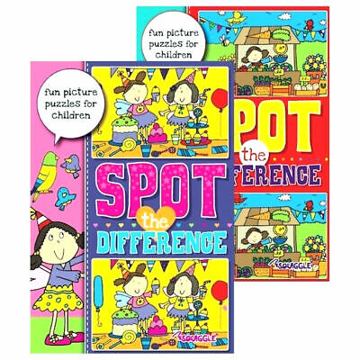 £2.49 • Buy A4 Spot The Difference Activity Book - Puzzle Books Kids Children Fun Journeys