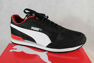 AU92.87 • Buy Puma St Runner Lace Up Sneakers Low Shoes Sports Shoes Black New