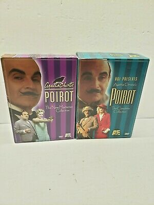 £28.95 • Buy Agatha Christie Poirot New Mysteries Classic  Collection& The Complete Collectio