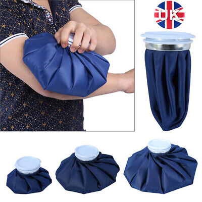 £6.24 • Buy Ice Bag Pain Relief Heat Pack Sports Injury Reusable For Knee Head Leg - LARGE