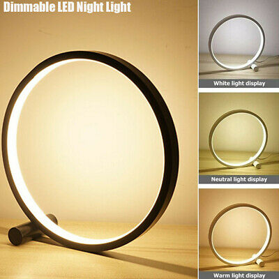 AU30.59 • Buy LED Bedside Night Light Desk Table Nightstand Lamp Touch Dimmable Home Decor AU