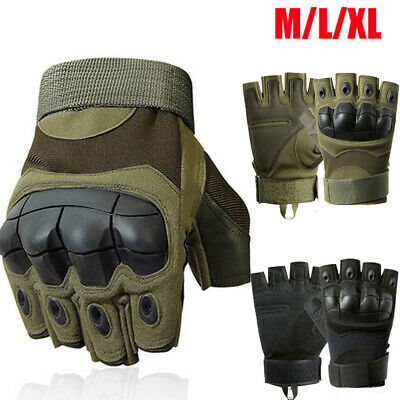 AU18.68 • Buy Military Tactical Gloves Half Finger Motorcycle Army Combat Fingerless M/L/XL AU