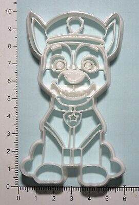 £4.99 • Buy Paw Patrol Chase Cookie  Cutter 3d Printed