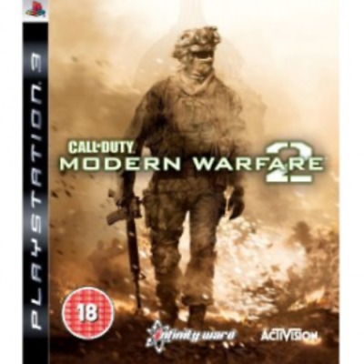 Call Of Duty 6 Modern Warfare 2 Game PS3 OFFICIAL Gift Idea War Game NEW  • 18.40£
