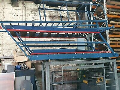 £1330 • Buy Mezzanine Steel Stairs Or Fire Escape Staircase