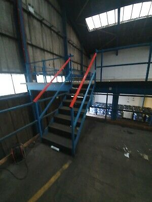 £440 • Buy Mezzanine Steel Stairs Or Fire Escape Staircase