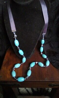 £2.99 • Buy Faux Turquoise Necklace From Karma In New Condition