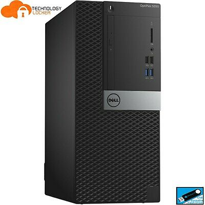 AU637.50 • Buy Dell OptiPlex 5050 Mini Tower PC Intel I5-6500 16GB RAM 512GB SSD 2TB HDD Win 10