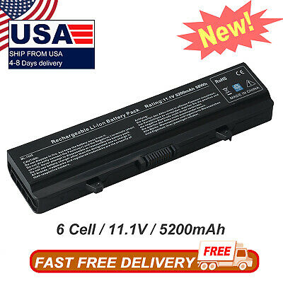 $12.98 • Buy Battery For Dell Inspiron 1525 1526 1440 1545 1546 1750 RN873 M911G GW240 HP297