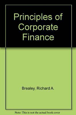 £3.56 • Buy Principles Of Corporate Finance-Richard A. Brealey, Stewart C. My ..0071001530