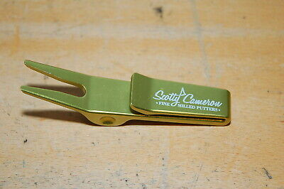 $99.99 • Buy SCOTTY CAMERON Yellow  Fine Milled Putter  W/ Clip DIVOT TOOL