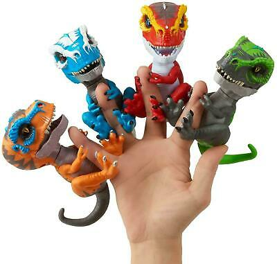 AU33.90 • Buy Fingerlings Untamed Dino Raptor Interactive Collectible Baby Dino GIFT IDEA NEW