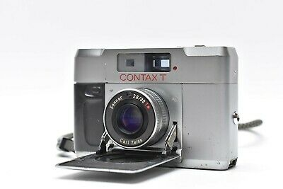 $ CDN481.89 • Buy [LENS MINT] CONTAX T Silver Rangefinder 35mm Film Camera Body Only From JAPAN