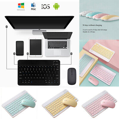 £11.47 • Buy For Samsung Galaxy Tab 3 4 A E S S2 S3 8  9.6 10.1 Bluetooth Keyboard With Mouse