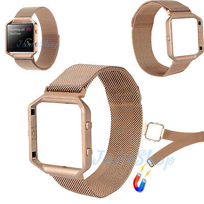 AU20.85 • Buy Milanese Magnetic Loop Stainless Steel Strap Watch Band For Fitbit Blaze Tracker