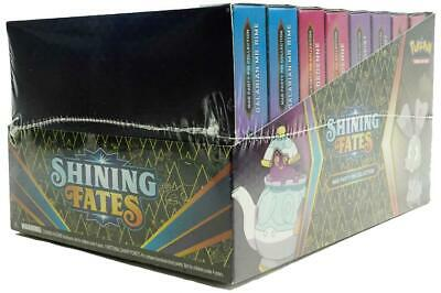$173.95 • Buy Pokemon Shining Fates Mad Party Pin Collection 8 Count Box