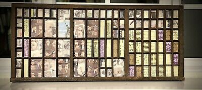 £60 • Buy Letterpress Print Tray Wood Drawer Curios Display Upcycled And Lined