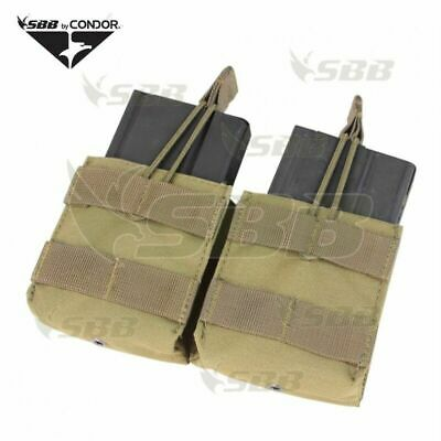 $16.48 • Buy Low Quick Magazine Pouch Double 2 Places Condor FÜr M14 Military Airsoft Cy