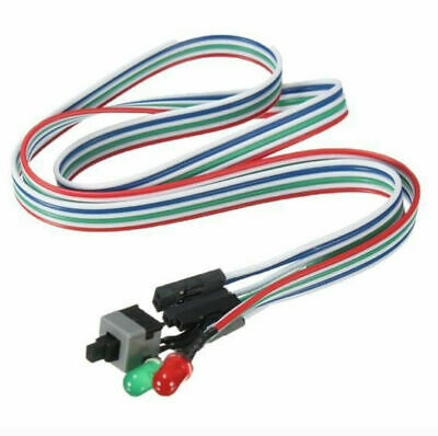£1.17 • Buy Computer Motherboard Power Cable Switch On/Off/Reset Button Replacement