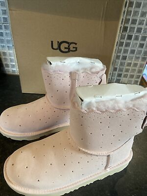 £120 • Buy Ugg K MIMI BAILEY BOW Ll STARRY LITE Boots Size Uk5 Genuine