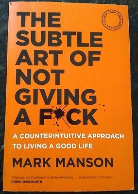 AU20 • Buy The Subtle Art Of Not Giving A F*CK: