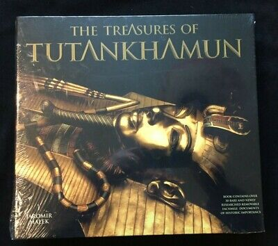 £25.45 • Buy The Treasures Of Tutankhamun By Jaromir Malek - Boxed Set With Pull Outs
