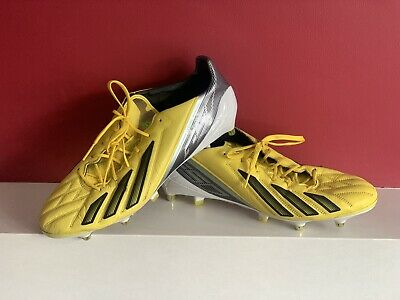 AU158.31 • Buy Adidas F50 Adizero FG  Football Boots - Yellow Size U.K. 12.5Excellent Condition