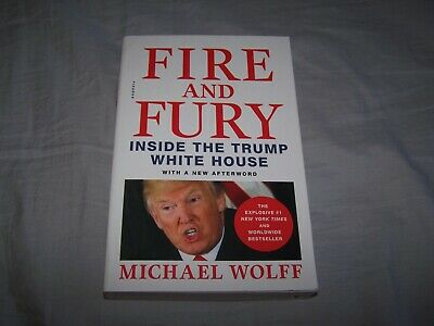 AU10.69 • Buy Fire And Fury : Inside The Trump White House By Michael Wolff ©2019, Paperback