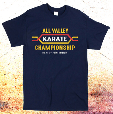 $13.99 • Buy All Valley Karate Kid 80s Film Movie MMA Funny T-shirt Classic Retro Cool Tee