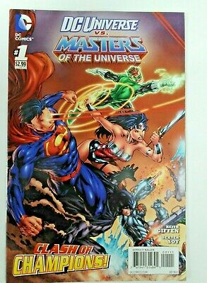 $3.51 • Buy Dc Universe Vs Masters Of The Universe He-man 1-6 Pick Choose Your Comic