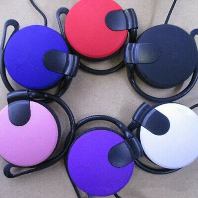£4.57 • Buy Super Bass 3.5mm Ear Hook Over Ear Headset Headphone For Phone MP3 Tablet PRW9H