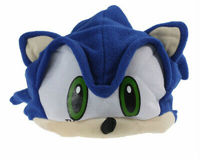 £14.41 • Buy Super Sonic Cos Cap The Hedgehog Stuffed Plush Hat Animals Beanie Toys Gift A1