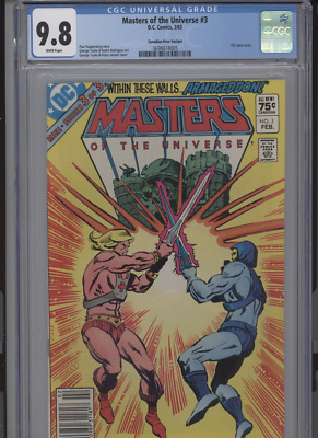 $359.99 • Buy Masters Of The Universe #3 Mt 9.8 Cgc Highest Graded 1 Of 1 Canadian Price Varia