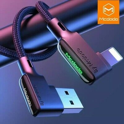 AU10.99 • Buy Mcdodo Heavy Duty USB Charging Sync Data Charger Cable For IPhone IPad Gaming