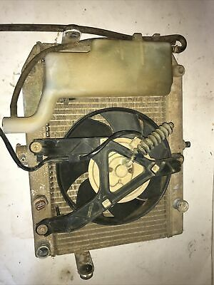 $100 • Buy 2005 Suzuki King Quad 700 Radiator With Fan And Coolant Bottle