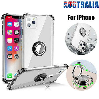 AU7.99 • Buy For Apple IPhone 7 8 11 Pro XS Max XR Shockproof With Ring Stand Case Cover Gift